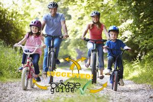 Family Cycling with suggested bikes
