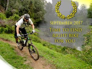 Choose the right bike for you in september