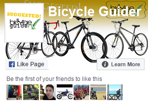 Bicycle Guider – Like us on Facebook