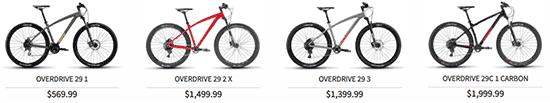 Overdrive bikes