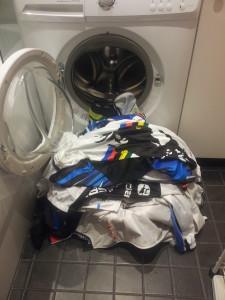 Washing Cycling Clothes