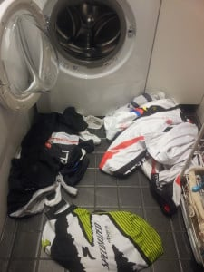 Washing Cycling Clothes