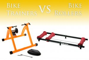 Bike Trainers vs Bike Rollers