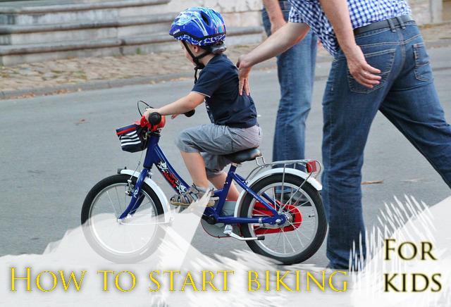 How to start biking for kids