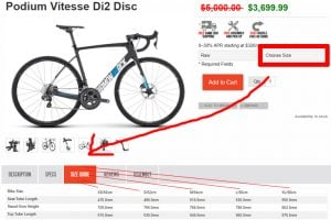 Diamondback Bike Sizes