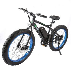 E-GO BIKE Fat Tire Electric Bike Beach Snow Bicycle Review
