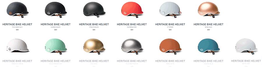 Thousand Heritage series helmets