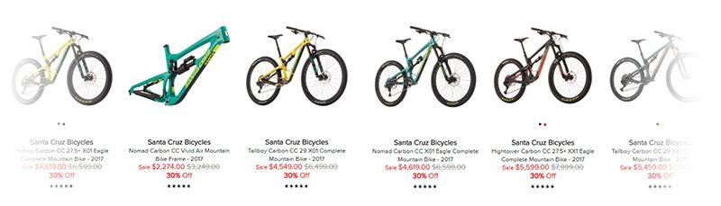 Santa Cruz Bikes Discount