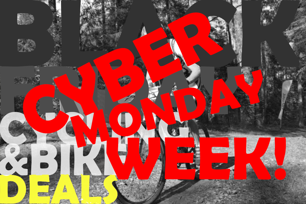 Cyber Monday bike and cycling deals