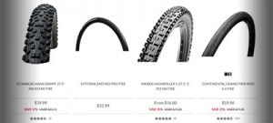 Bike tires for Christmas