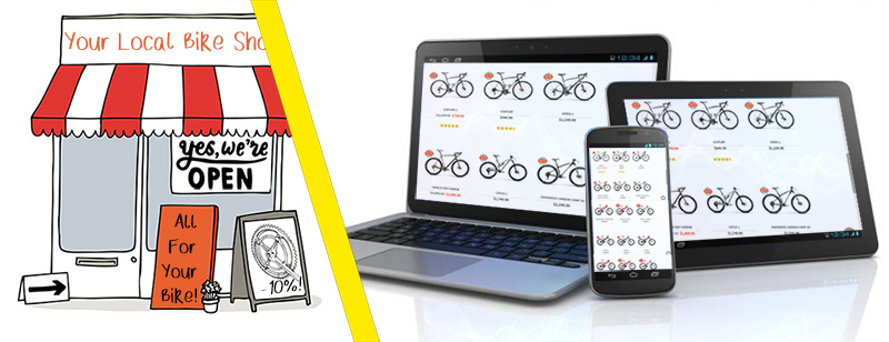 Buying Bikes online vs from local bike shop