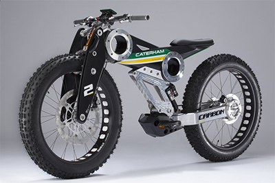 Caterham E-fat bike (source:carscoops.com)