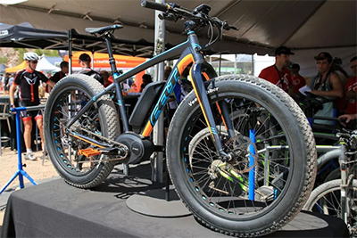 E-fat bikes