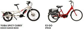 Izip Utility Electric bikes