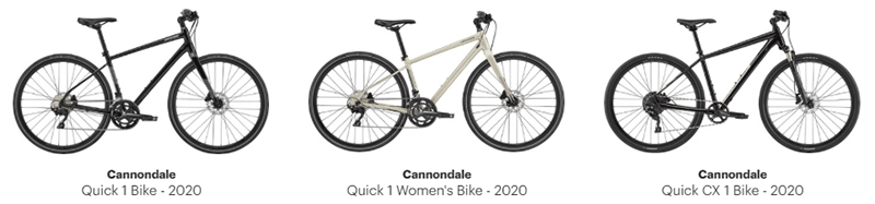 Cannondale Quick 1 & Quick CX 1