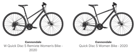cannondale Quick 5 & Quick disc 5