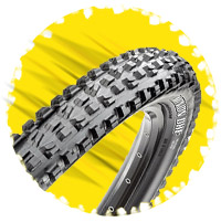 Bike tread pattern