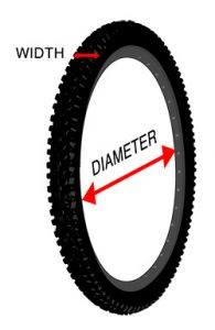 Bike itre Size and Diameter