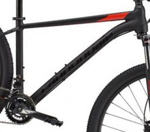 Trail 6 6061 alloy frame is reliable