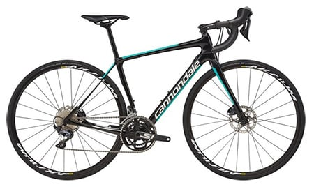 Cannondale Synapse Carbon as best road bike for women