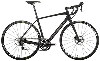 Orbea M30 Team Disc as best road bike for trainings