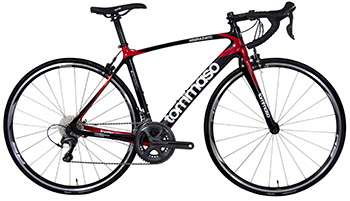 Tommazo Aggraziato as best road bike for trainings