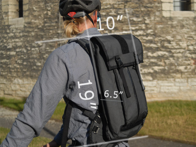 Mission Workshop Hauser Hydration Bag sizes