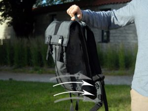 Mission Workshop Hauser Hydration Bag HeightAdjustment straps