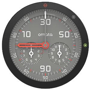 Analog Bike computer - Omata One