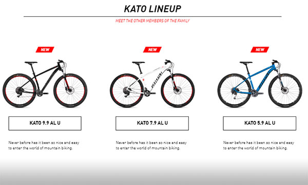 Ghost Kato Series overview