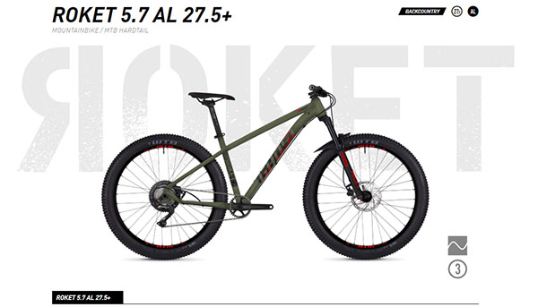 Ghost Bikes Roket Overview
