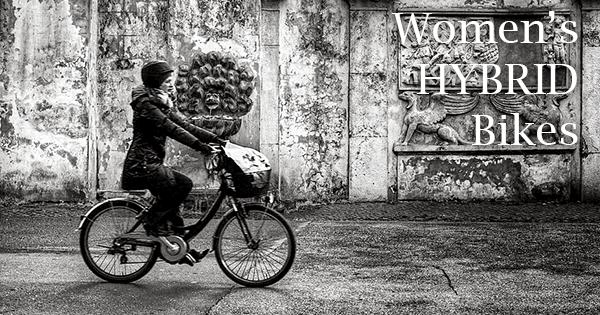 Women's hybrid bikes