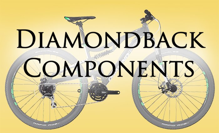 Diamondback Mountain Bike components