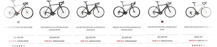 Best Road Bike Deals on JensonUSA