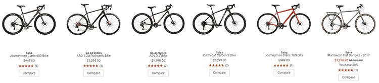 REI road bikes