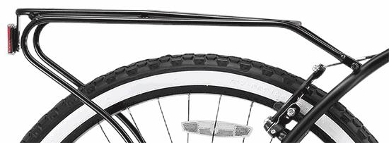 Cruiser bike wheel