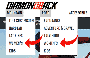 Diamondback bikes for women