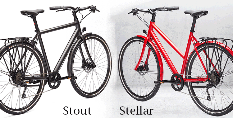 Ampler Stout & Stellar city electric bikes