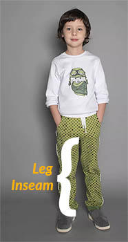 How to measure kids leg inseam