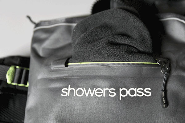 Showers pass Transit backpack soft pocket