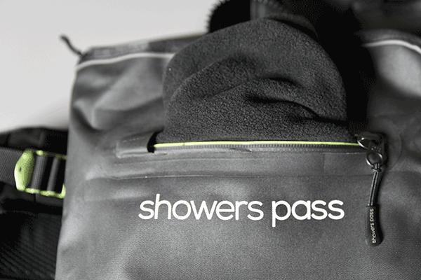 Showers pass Transit backpack soft pocket