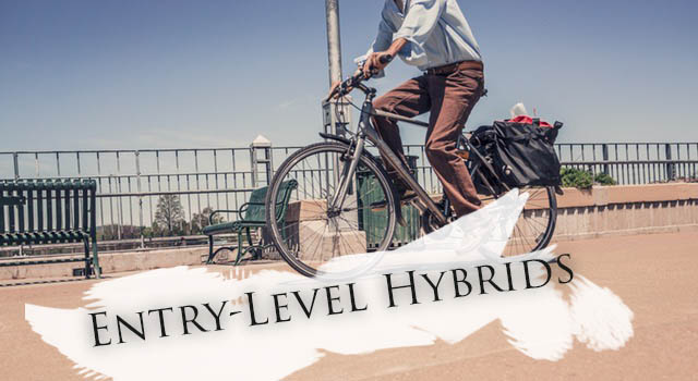 Best entry level hybrid bikes