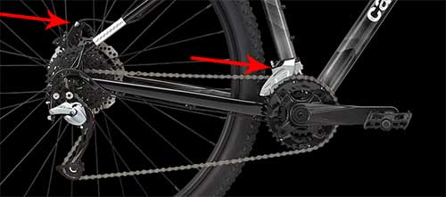 Cannondale Trail 7 components