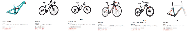 Black Friday Bikes on Competitive Cyclist