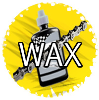 Wax for bike chains