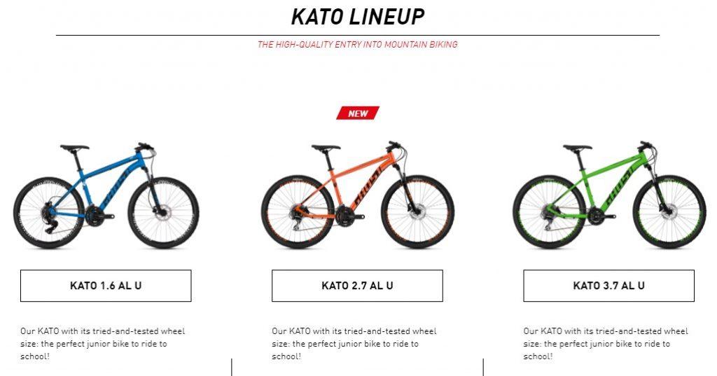Ghost Kato Lineup