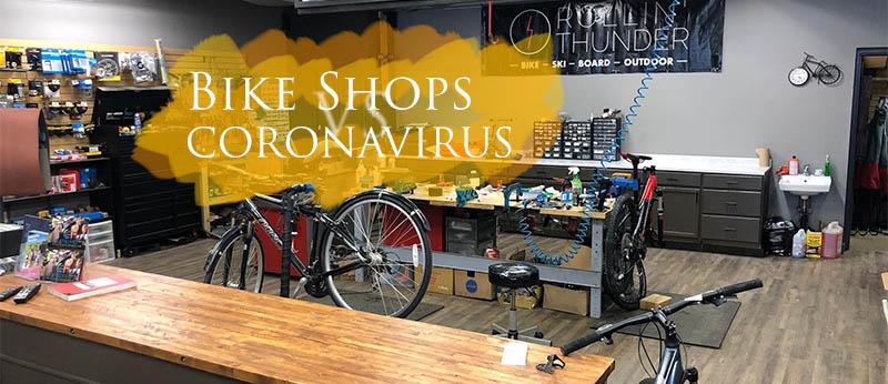 Bike shops & coronavirus