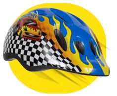 Always use a helmet on a balance bike