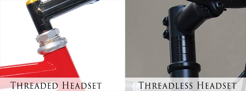 Threaded vs Threadless headsets