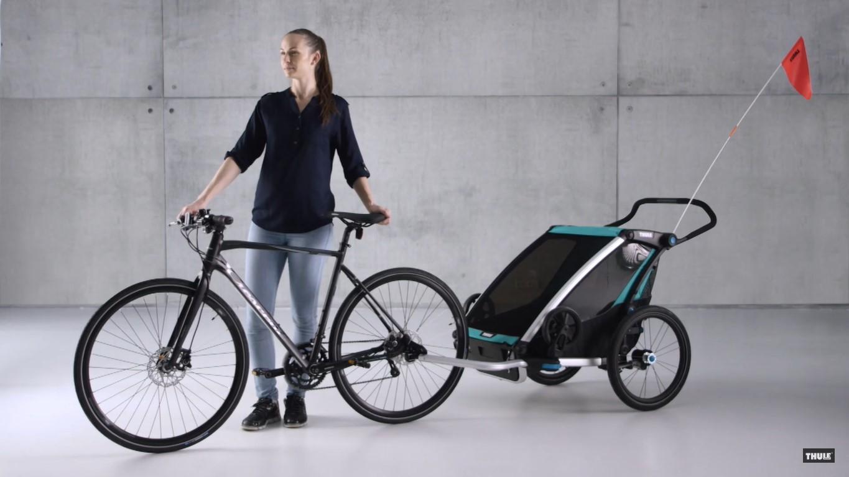 Thule Chariot Lite premium bike trailer